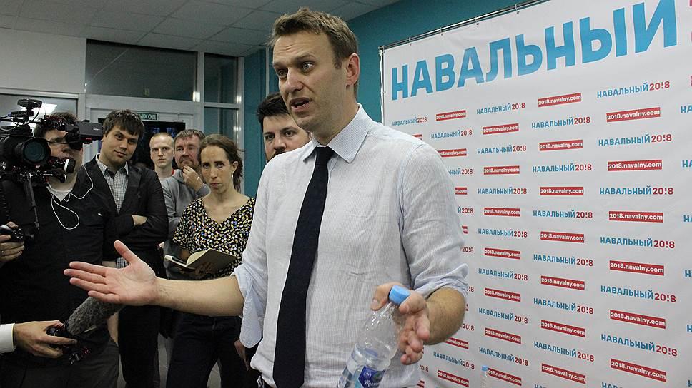 Ъ-Волга: Алексей Навальный уехал чистым