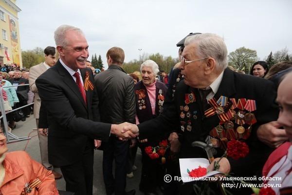 Сергей Морозов и ветеран
