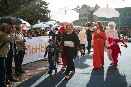 Татьяна Догилева и ее дочь Екатерина