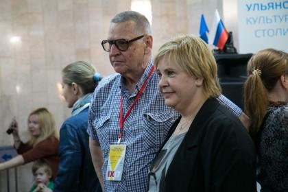 Татьяна Догилева и ульяновский фотограф Алексей Жданов