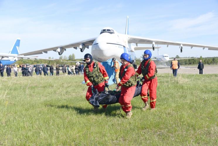 В аэропорту «Ульяновск-Восточный» прошли крупномасштабные поисковые и аварийно-спасательные учения 2