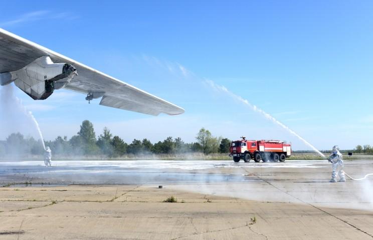 В аэропорту «Ульяновск-Восточный» прошли крупномасштабные поисковые и аварийно-спасательные учения 3