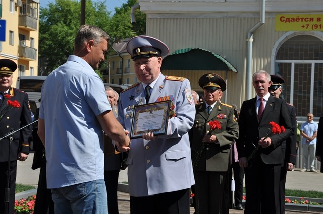 В центре Ульяновска открыли мемориальный комплекс «На страже правопорядка» 2
