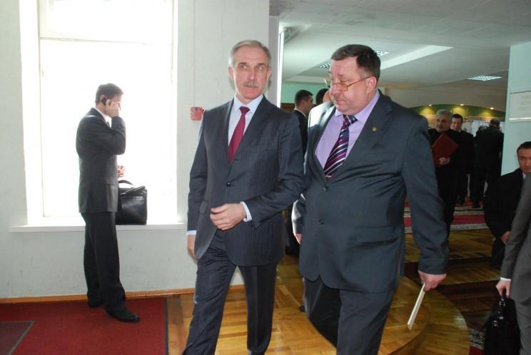 Сергей Морозов (слева) и Александр Якунин (справа).