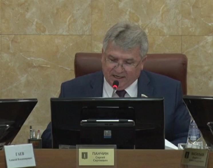 Глава Ульяновска Сергей Панчин.