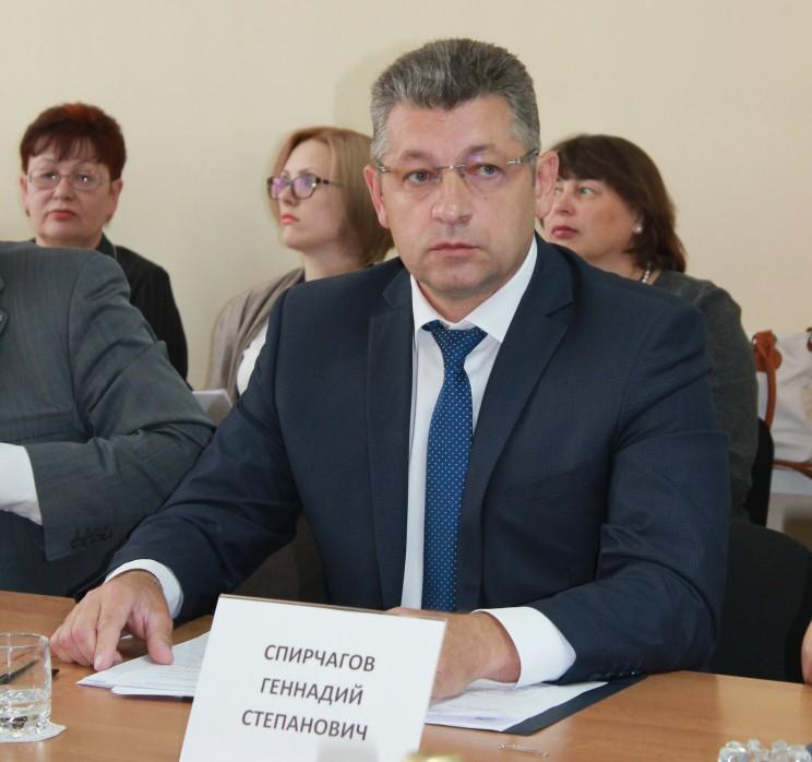 Геннадий Спирчагов.