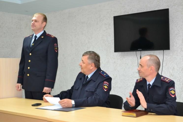 Начальник - полковник полиции В.Н. Кузоваткин Варченко