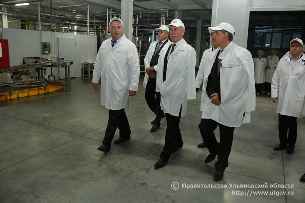 Сергей Морозов посещает фабрику Глобус, 2016 - 2