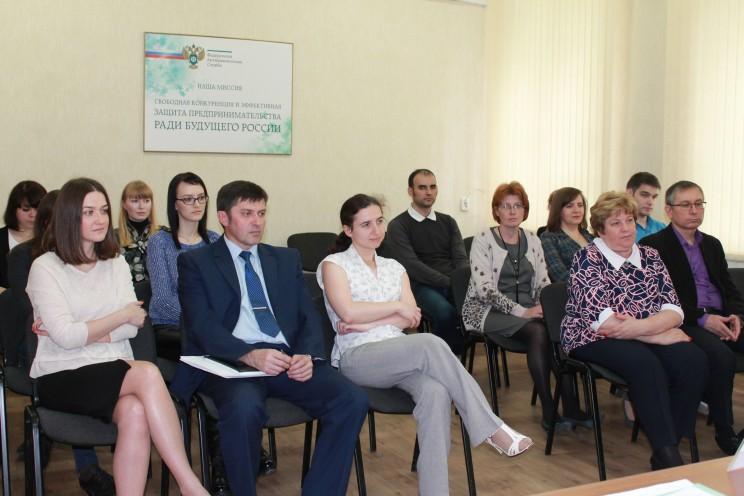 Сотрудники управления ФАС по Ульяновской области, июнь 2017 года.