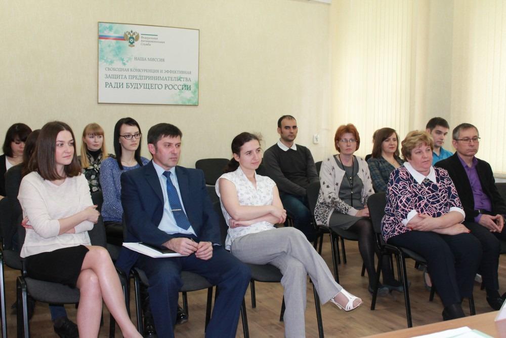 Геннадий Спирчагов и его коллеги приглашают обсудить работу управления ФАС по Ульяновской области