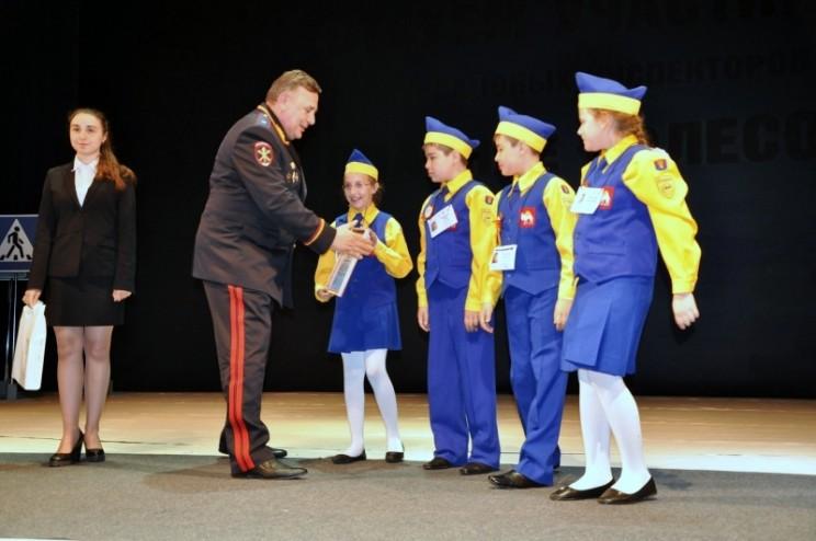В Ульяновске состоялась торжественная церемония закрытия и награждения победителей всероссийского конкурса юных инспекторов движения «Безопасное колесо» - 1