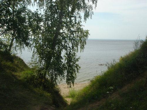 Архангельское берег Волги