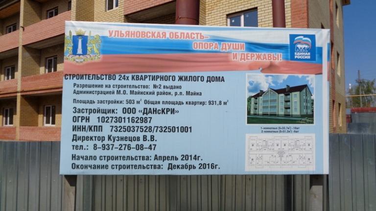 Василий Кузнецов и его ООО «ДАНСКРИ» получали миллионы бюджетных рублей за дома, которые так и не построены