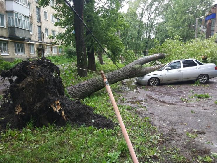 Дождь в Ульяновске, 6 июля 2017 года