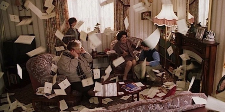 Гарри поттер письма