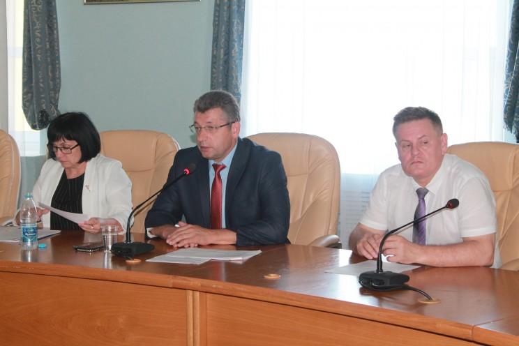 Геннадий Спирчагов в правительстве Ульяновской области, 20 июля 2017 года