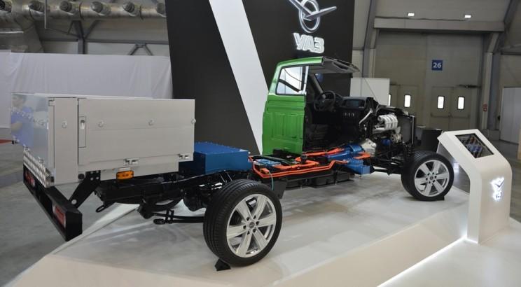 Пока гибридная модель Ульяновского автозавода находится в статусе прототипа. «Донором» для автомобиля стал новый грузовик Профи полной массой до 3,5 т.