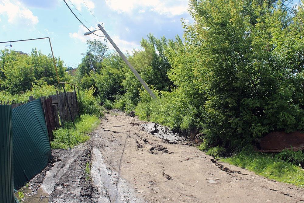 РГ: Новый оползень в Ульяновске повредил 32 жилых дома