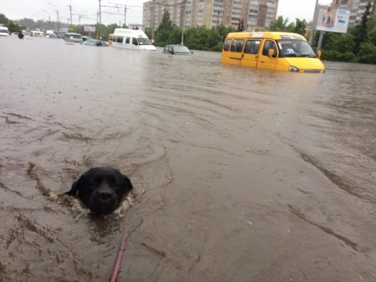 Потоп в Ульяновске, 5 июля 2017 года
