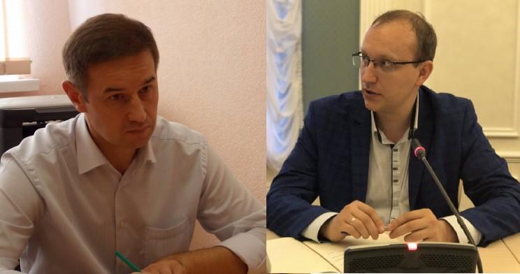 Андрей Тюрин (слева) и Дмитрий Вавилин (справа).