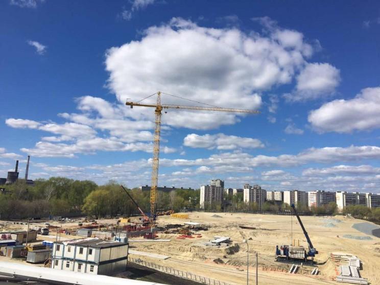 ЖК Аквамарин в процессе строительства 3