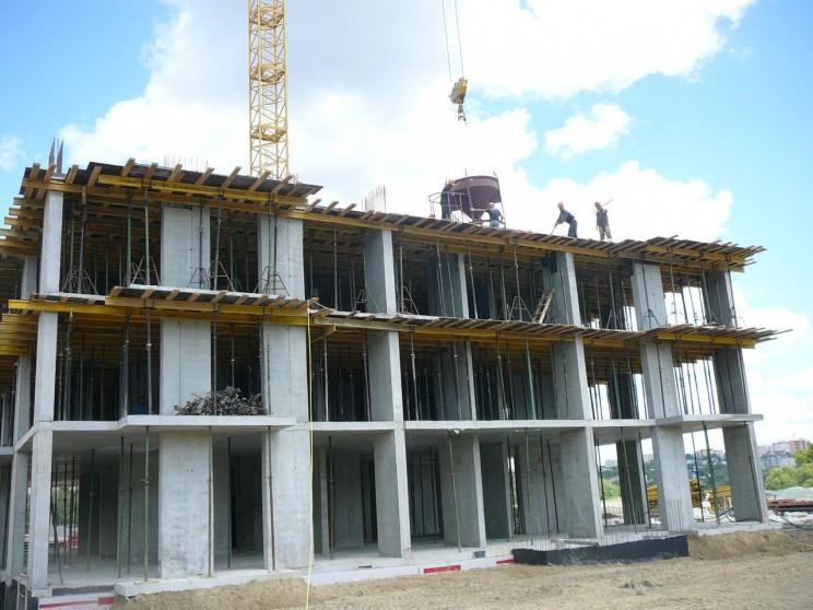 ЖК Аквамарин в процессе строительства