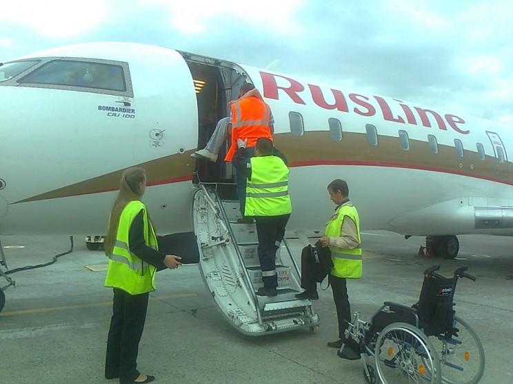 Аэропорт Ульяновск-Восточный отметил День воздушного флота очередным нарушением прав инвалидов