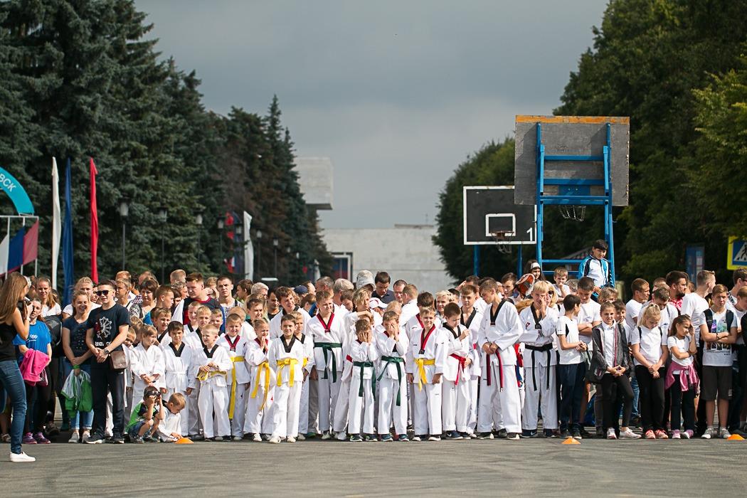 День Физкультурника в Ульяновске