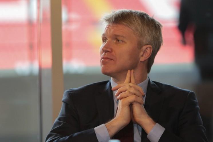 Павел Колобков, министр спорта Российской Федерации.