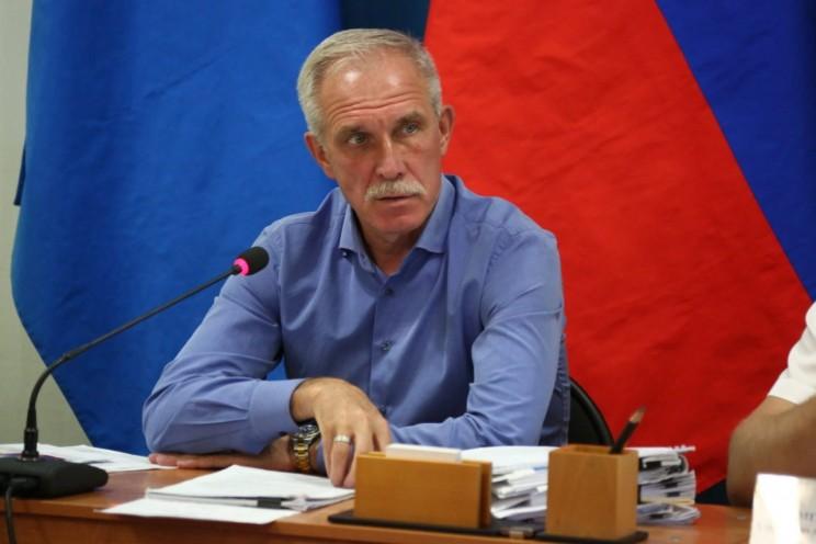 Сергей Морозов в Майнском районе, 14 августа 2017
