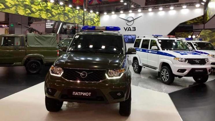 УАЗ представил новые спецавтомобили для военных и силовых структур