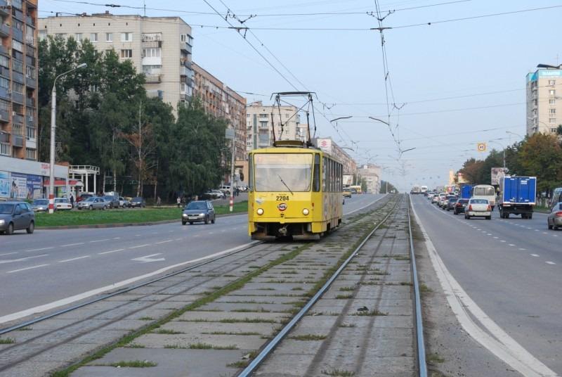 Сегодня ночью в центре Ульяновска ограничат движение трамваев