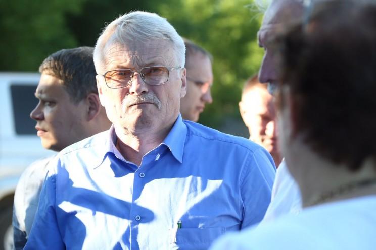 Глава администрации Тереньгульского района Владимир Дергунов