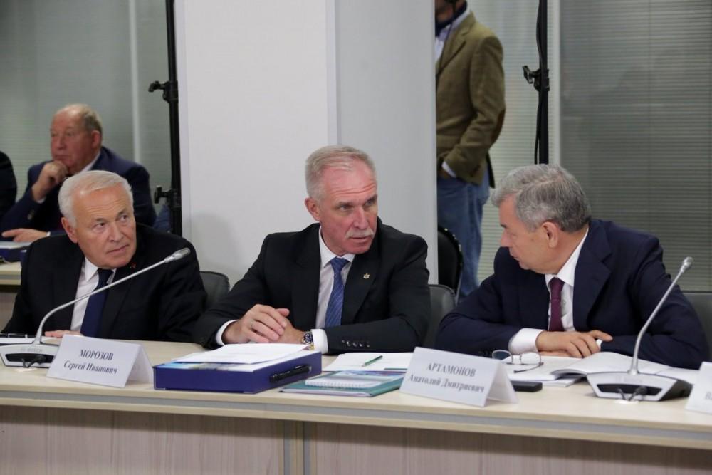 Сергей Морозов Владимиру Путину: «Огромное спасибо за уникальный мост через Волгу»