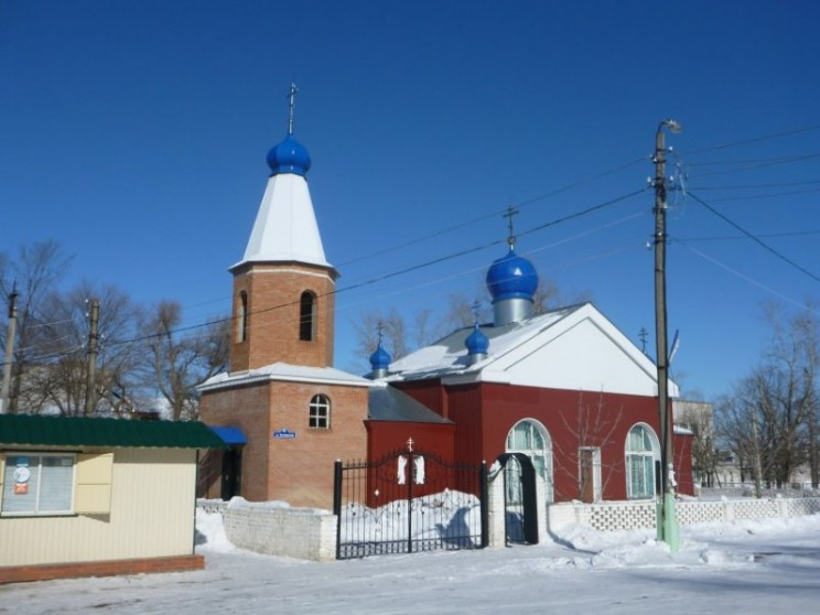 Храм св. Андоея Симбирского в поселке Силикатный Сенгилеевского района Ульяновской области