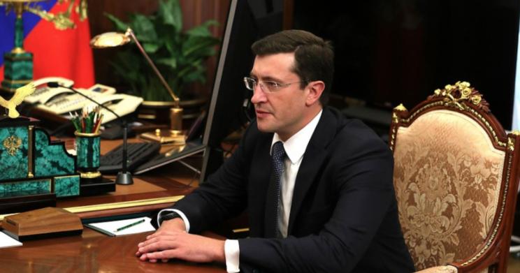 Вр.и.о. губернатора Нижегородской области Глеб Никитин.