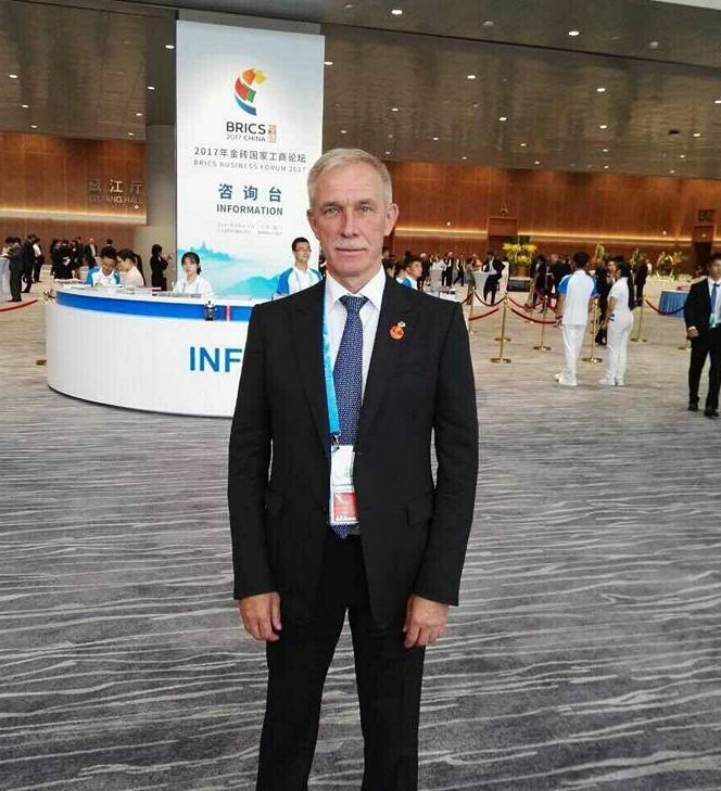 Сергей Морозов на саммите БРИКС 2 сентября 2017