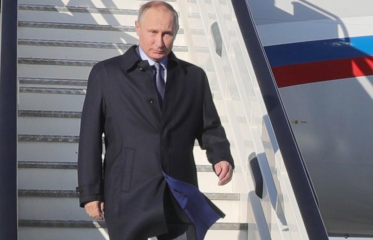 Владимир Путин в Ульяновске. Фото: Михаил Климентьев/пресс-служба президента РФ/ТАСС