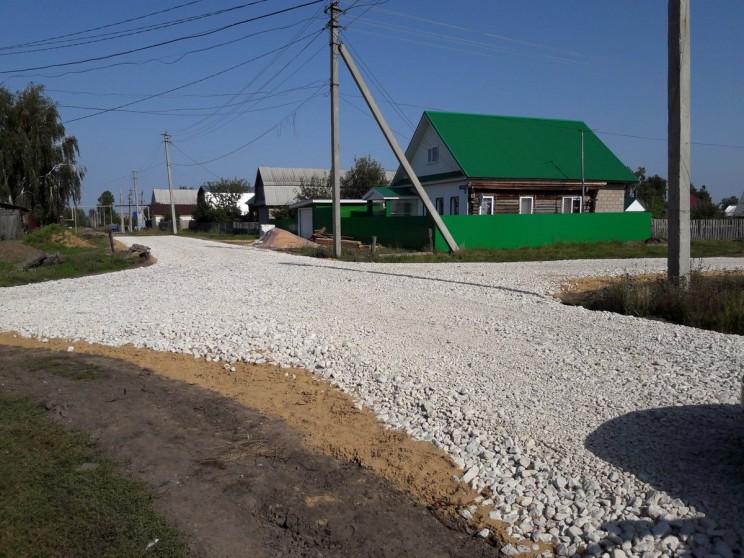 Дорога на ул. Ульяновская в Старой Майне.