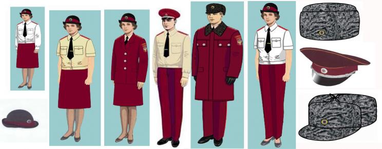 Образцы форменной одежды из технического задания документации об аукционе
