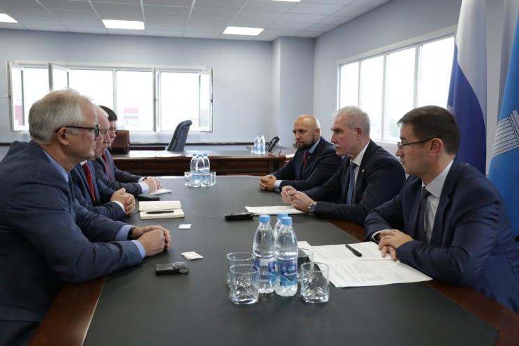 Губернатор Сергей Морозов - переговор с ПромТех
