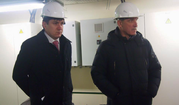 Губернатор Ульяновской области Сергей Морозов и его заместитель Павел Дегтярь.