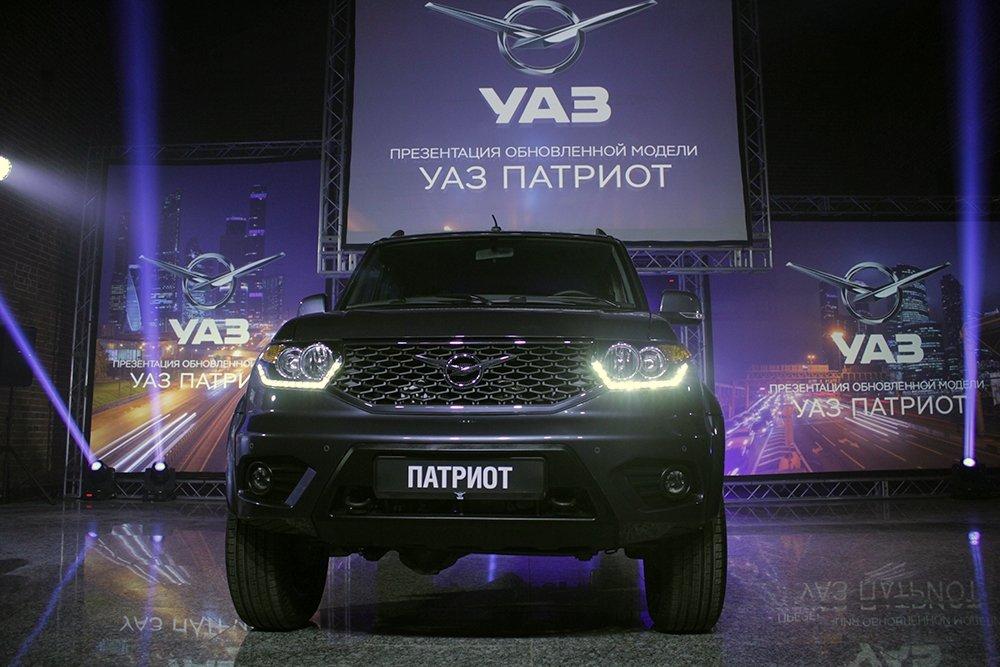 РГ: УАЗ «Патриот» попал в десятку лучших внедорожников России