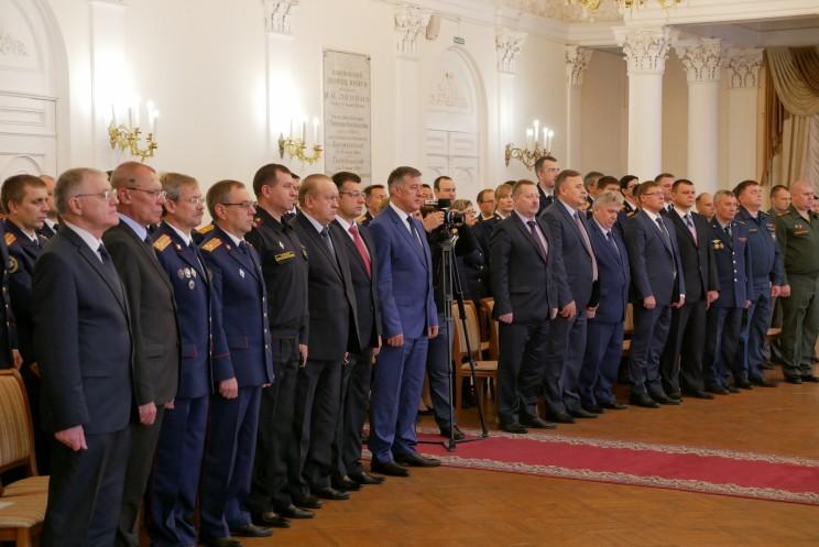 Сергей Михайлов представлен коллективу СУ СК по Ульяновской области 2