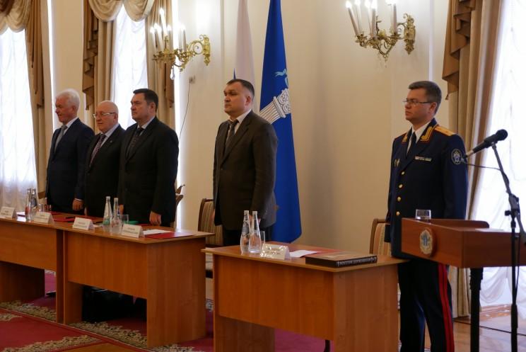 Сергей Михайлов представлен коллективу СУ СК по Ульяновской области