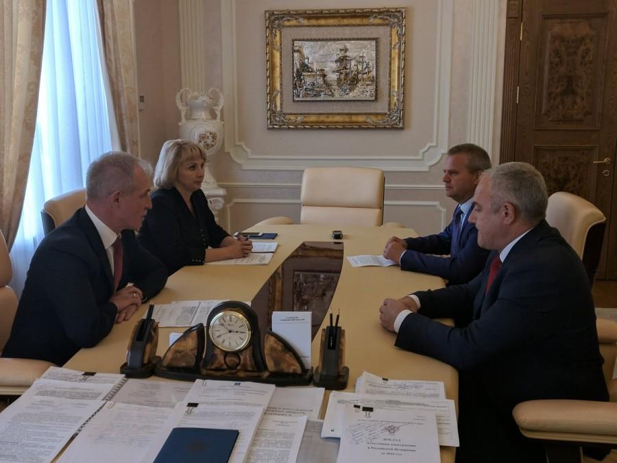 Губернатор Ульяновской области ищет содержание для палаты