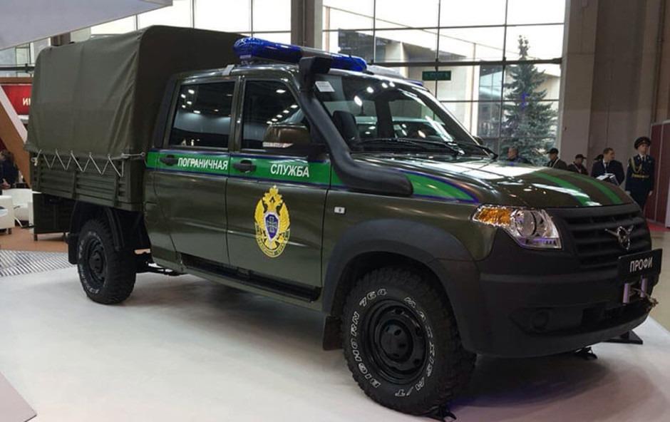 УАЗ выпустил спецавтомобили для пограничников и МВД на базе грузовика «Профи»