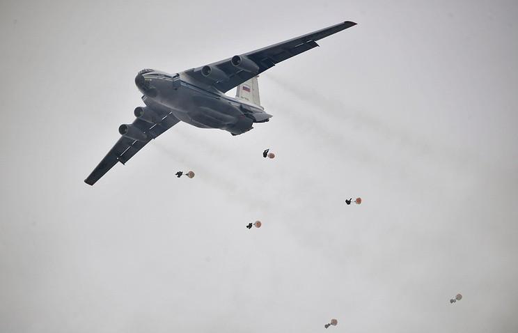 Учения военно-транспортной авиации под Ульяновском, 25 октября