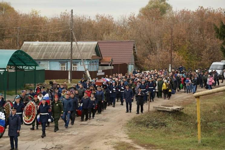 В Ульяновской области похоронили погибшего в Сирии офицера ВКС Юрия Медведкова