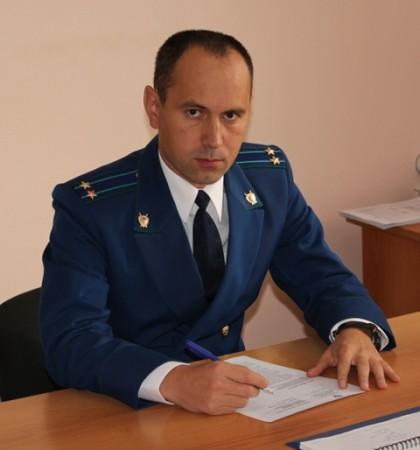 Виктор Петров, прокурор Ульяновского района Ульяновской области.